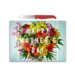 Cutting Board – Happy Mothers Day Flowers