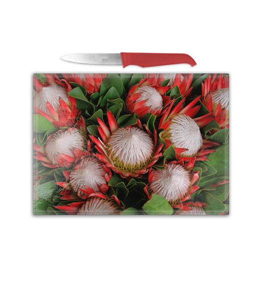 Cutting Board – Protea Bunch