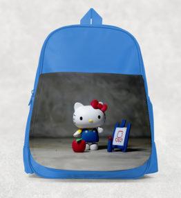 Kids Backpack - Hello Kitty Blue