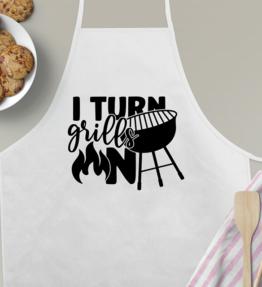 I Turn Grills on