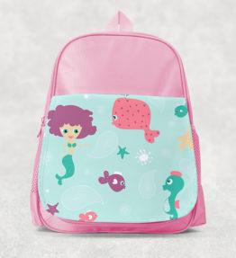 Kids Backpack - Mermaid