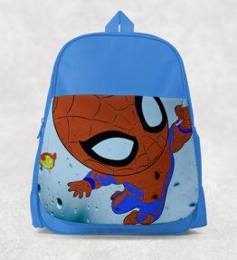 Kids Backpack - Spiderman Cartoon