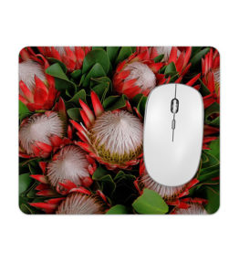 Square Mousepad – Protea Bunch
