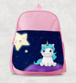 Kids Backpack - Unicorn with Star