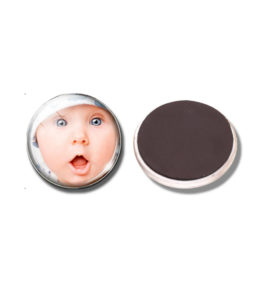 A Domed Glass Round Fridge Magnet - Create your Own