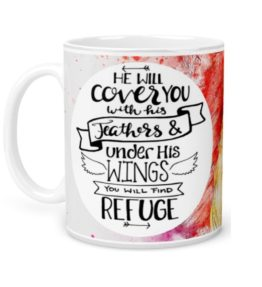He will Cover you with his Wings